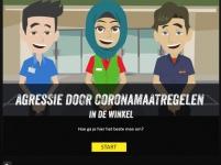 """Nieuwe mini-learning """"Agressie door coronamaatregelen"""" gelanceerd in de week van de veiligheid!"""